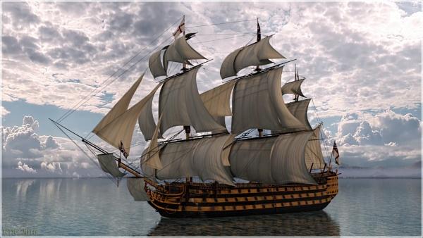HMS Victory by KDC
