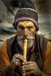 The flute man I met ..