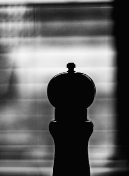 Pepper grinder by Madoldie