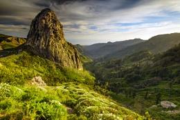 La Gomera_central peak Roque Agando