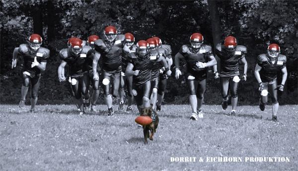 american football by Dorrit