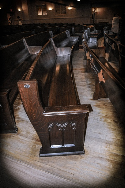 Pews by Tosh4photos