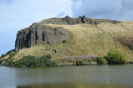 Dunsapie Crag and Loch