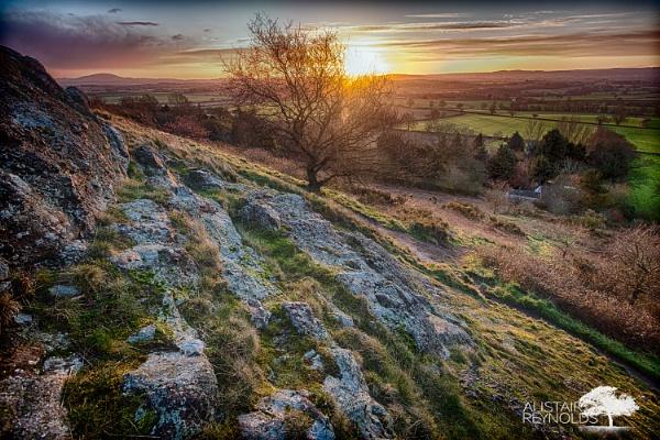 Sunrise over Shropshire by sprock