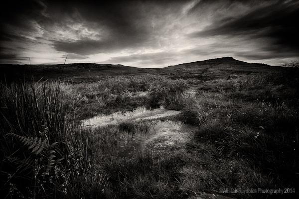 View near Carl Wark by sprock