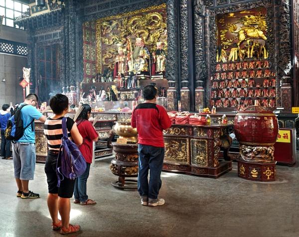 Loyang tua pek kong  Temple singapore by StevenBest