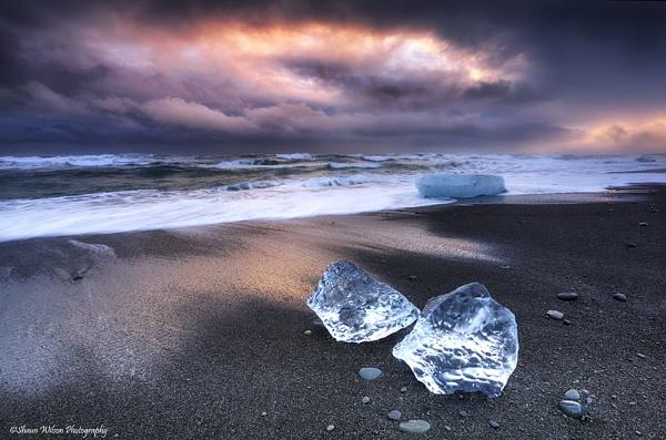 Jokursarlen Beach iceland by puma00065