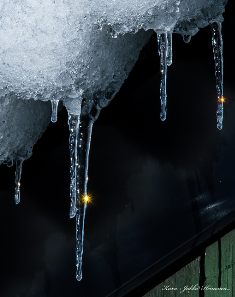 Icicles. by Jukka