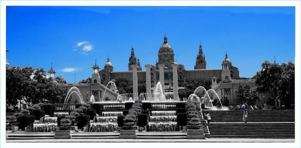 Magic Fountain - Barcelona by ginz04