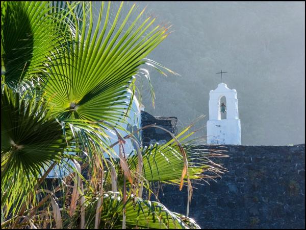 A Church Bell Tower in Garachico by bwlchmawr