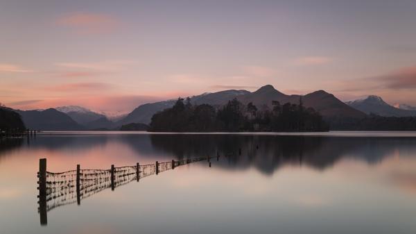 Sunrise over Derwentwater by PH56