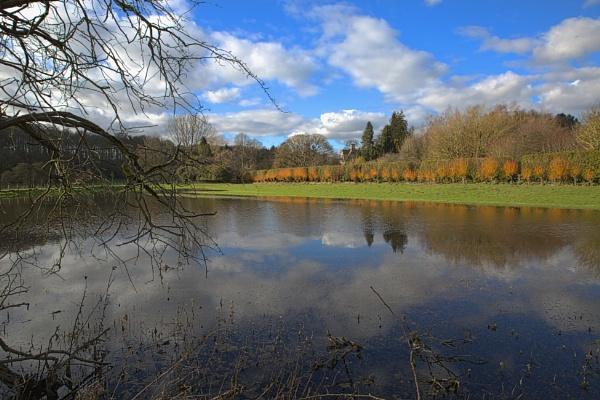 Flood field in the Cotswolds by Kempsfordbiker