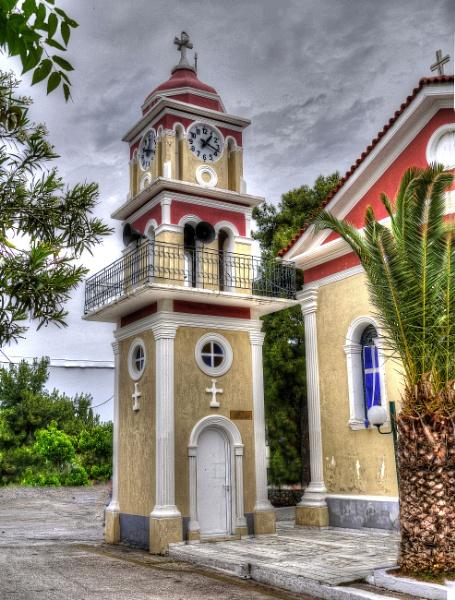 Main Church, Skala, Kefalonia by Richardjwills