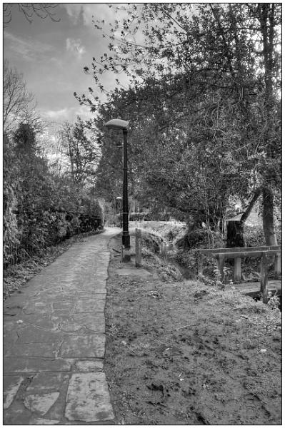 On a muddy path by EddieAC