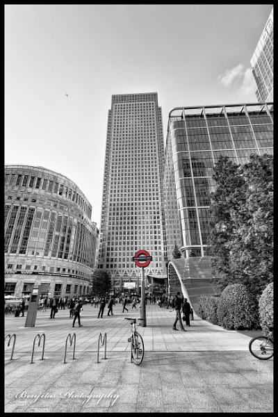 Canary Wharf by Benjitasphotography