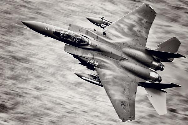 USAF F15 by John_Wannop