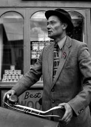 1940's cyclist