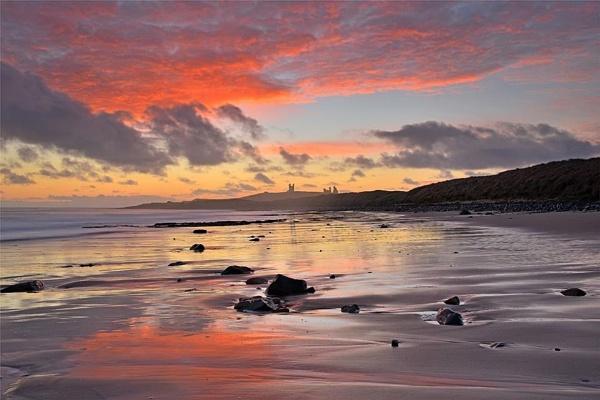 Dunstanburgh Dawn by phil99