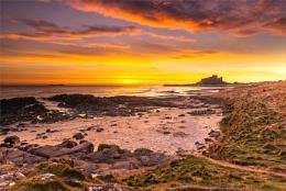Golden Dawn ,Bamburgh ,Northumberland