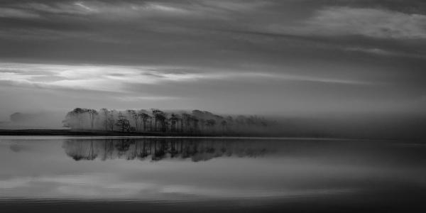 Mist on Malham Tarn by jasinclair
