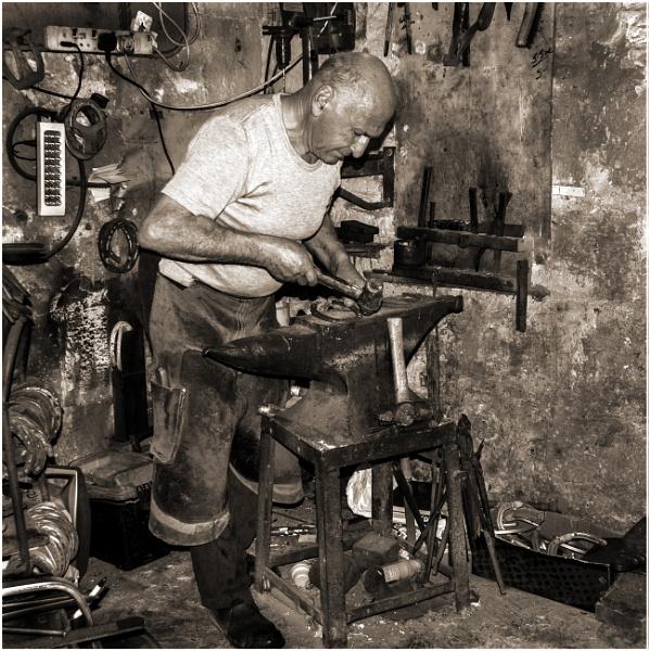 The Blacksmith by dusfim