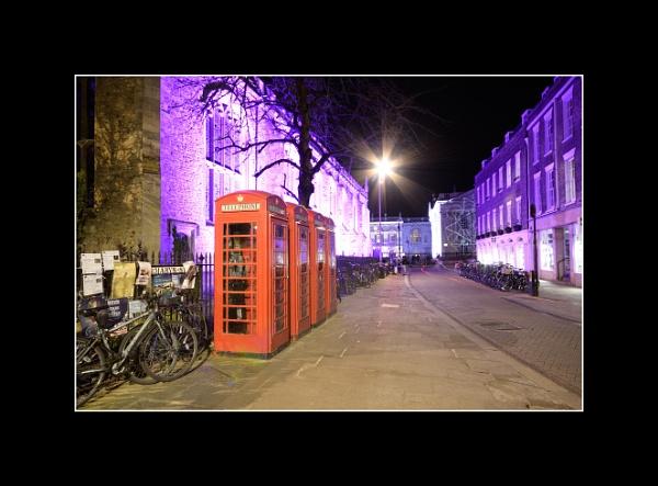 Cambridge at Night by TonyBrooks