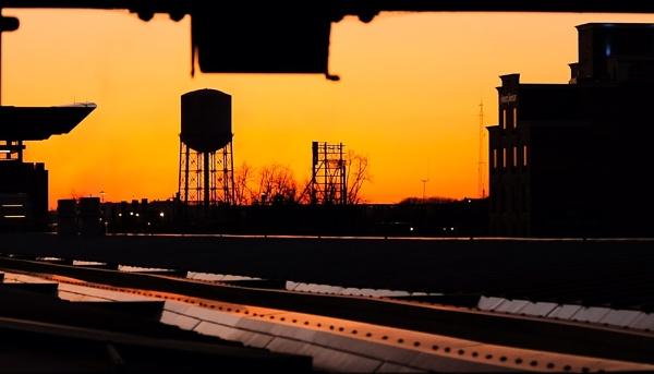 New York Sunset by Pricegrah