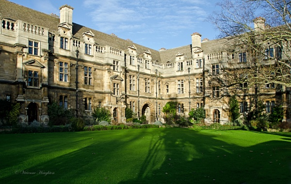 Pembroke College , Cambridge by vivdy