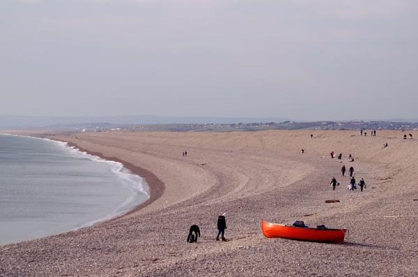 Chesil Beach clean by Chas05