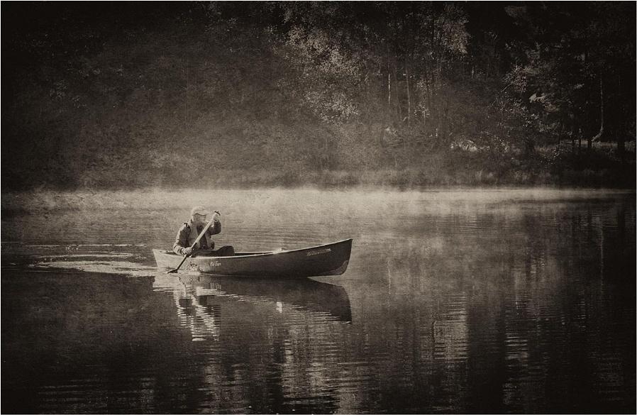 Morning Mist on Loch Ard