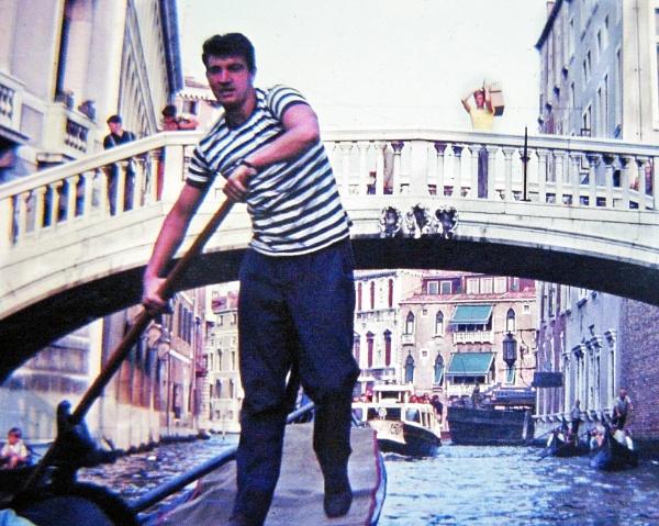 Saving the Gondolier.....retro film rescue by ken j.