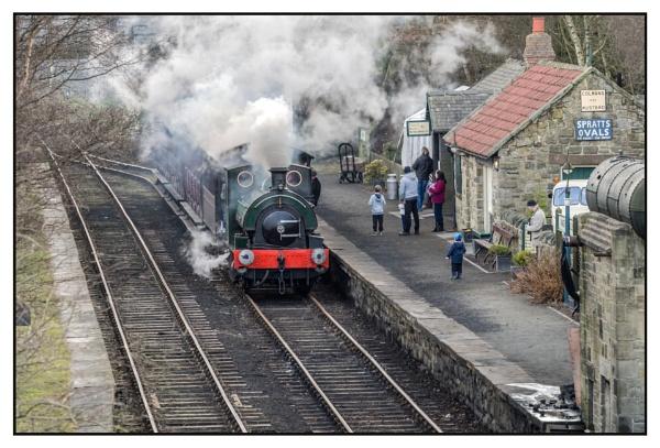 Rural Railway by JawDborn