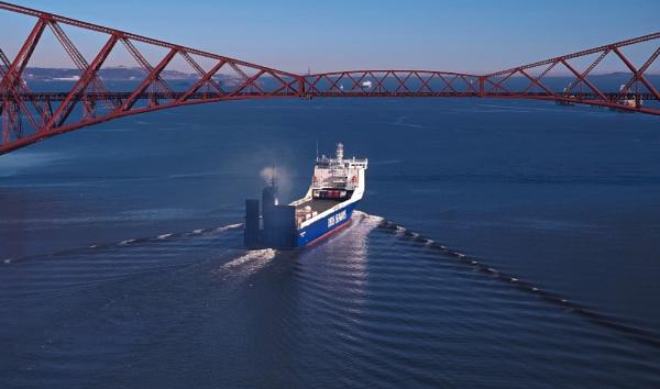 Zeebrugge Ro-Ro by photowanderer