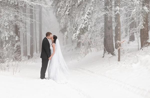 Winter Wonderland Wedding by DVfoto