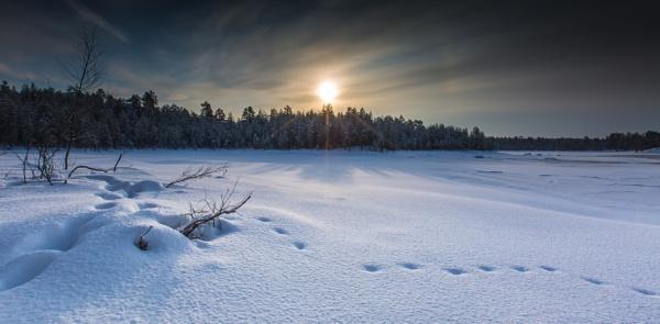 Lake Inari Lapland by Legend147
