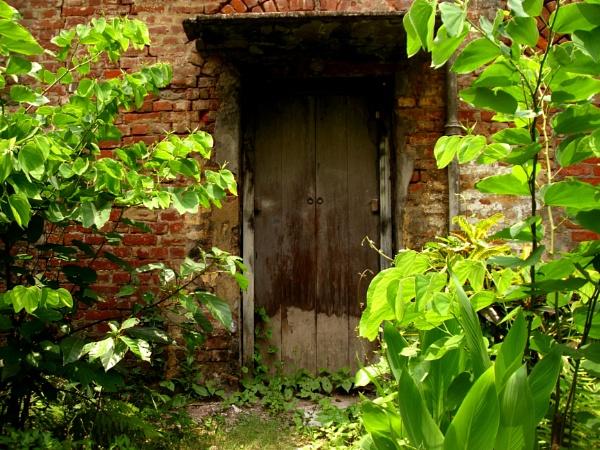 The unused entrance by kingmukherjee