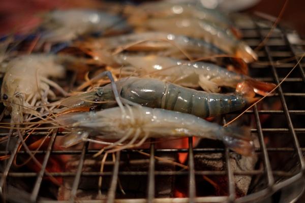 Shrimp BBQ by Lenscapon