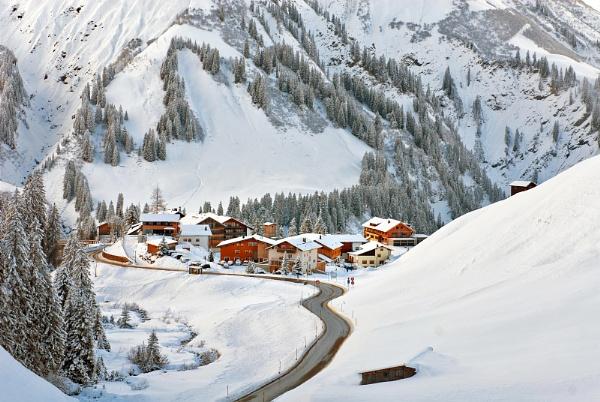 A tiny village of Nesslegg, Schrocken, Austria by PhilMinnis