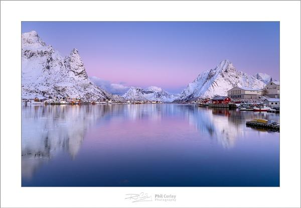 Dawn over Reine No. 1 by PhilCorleyPhoto