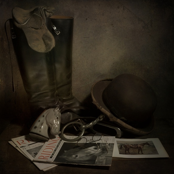 Equine Still Life by cattyal