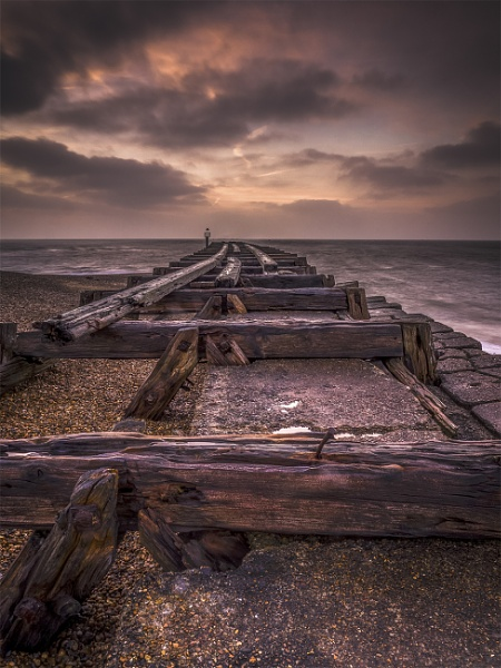 Morning landguard Point by timjnngs