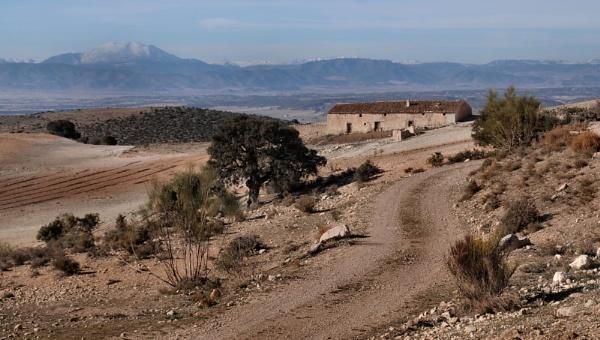 Empty Hill Farm, Sierra Maria by jdenman