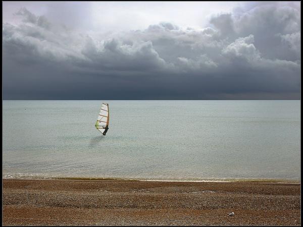 Beach, Sea, Cloud by Otinkyad