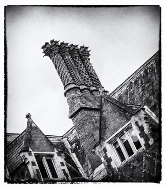 Gothic chimneys by dawnstorr