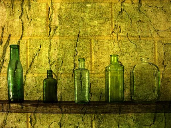 Five Green Bottles by Irishkate