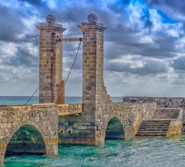 Lanzarote Draw Bridge. by swiftflo