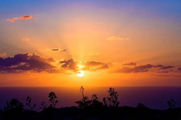 Sunset by Sillu