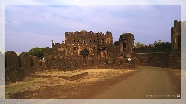 Barid shahi fort at Bidar Karnataka - India by ashokynk