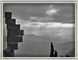 A grey day in Monserrat