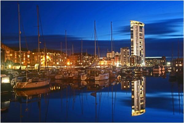 Swansea Marina by AnthonyR